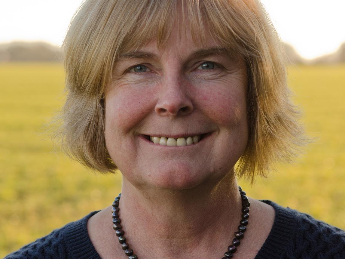 Alison Cox OBE FRSA