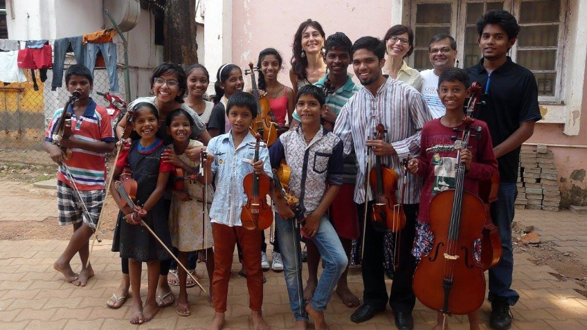 Young Commonwealth Outreach Ambassadors in India