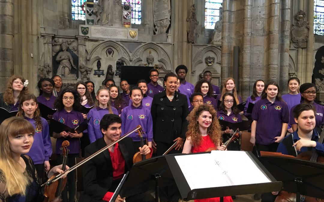The Commonwealth Resounds in Westminster Abbey