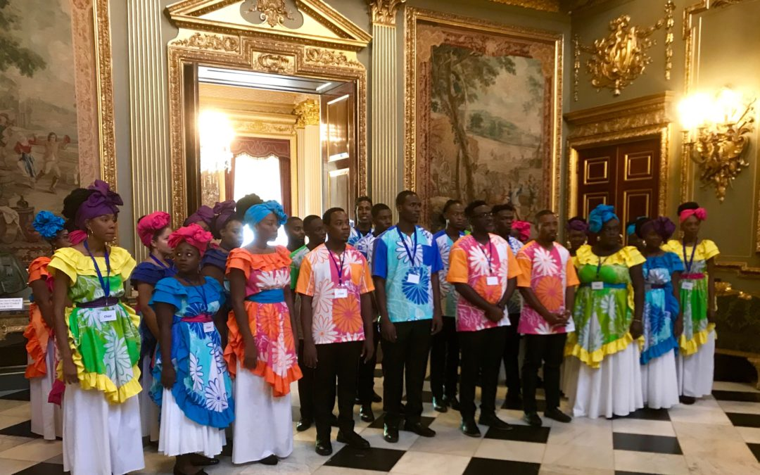 National youth choir of Antigua and Barbuda in the UK!