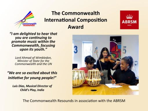 The Commonwealth International Composition Award