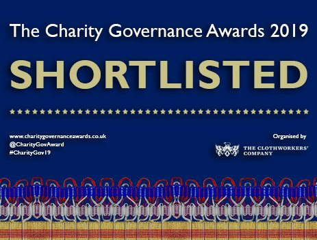 The Commonwealth Resounds shortlisted for The 2019 Charity Governance Awards