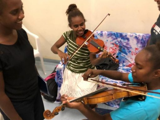 The Dionysus Ensemble in the Solomon Islands