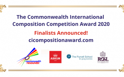 Finalists Announced: Commonwealth International Composition Award 2020/21